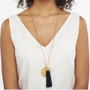 Carla tassel necklace from Stella and Dot!